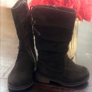 Size 4 toddler black boots